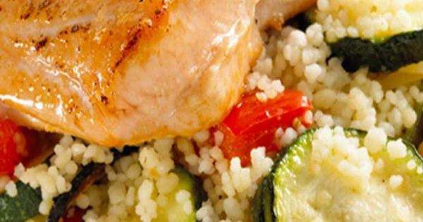 Grilled grouper, Couscous and How to cook on Pinterest