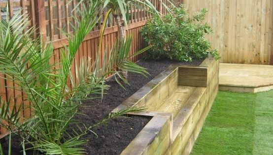 low maintenance garden raised borders google search. Black Bedroom Furniture Sets. Home Design Ideas