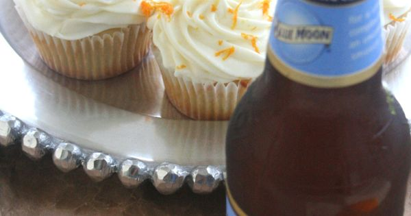 Blue Moon cupcakes: These were excellent but next time I'll make some