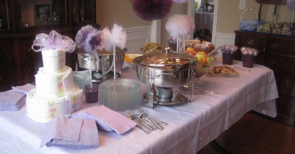 A Purple Themed Baby Shower