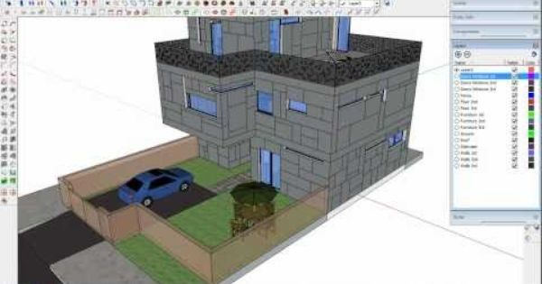 Tip To Export From Sketchup 3d To Autocad 2d Youtube Autocad