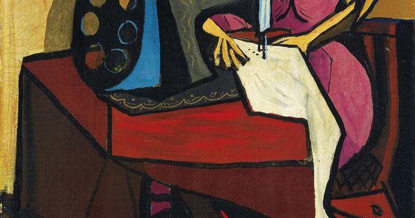 La Máquina de Coser, 1943, Oscar Dominguez. | - FASHION