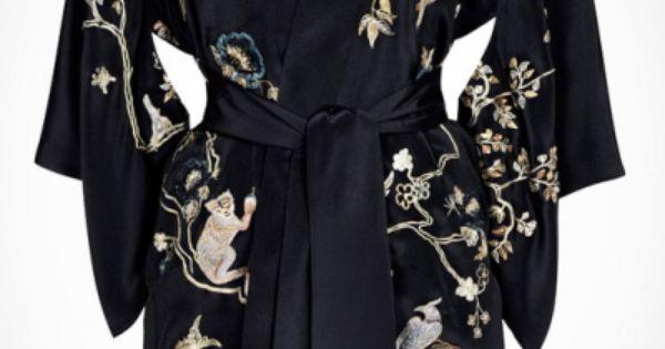 Agent Provocateur Soiree Sabrina Kimono / Gown