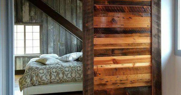 Puerta corrediza madera hogar pinterest madera for Puertas corredizas internas