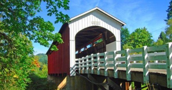 Curren Bridge In Cottage Grove Oregon Cottage Grove Oregon Cottage Grove Covered Bridges
