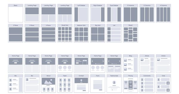 Website Ux Flowchart Cards By Codemotion Design Kits