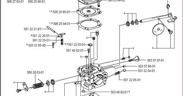partner k950 active carburetor parts diagram  u0026 breakdown
