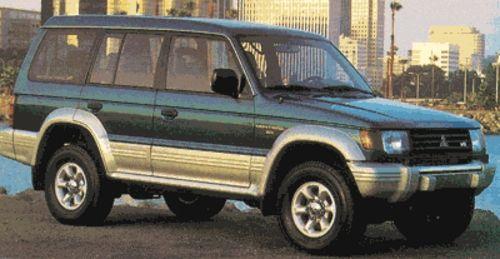 Mitsubishi Montero Full Service Repair Manual 1992 1995