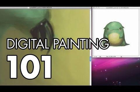 Monster Cutie - Digital Painting 101