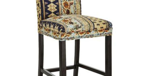 Angela Deluxe Counter Stool Kantha Blue furniture  : 3962ebab69f1d88fe6aea0e2048999cb from www.pinterest.com size 600 x 315 jpeg 20kB