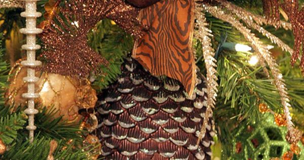 Pinecone ornament.
