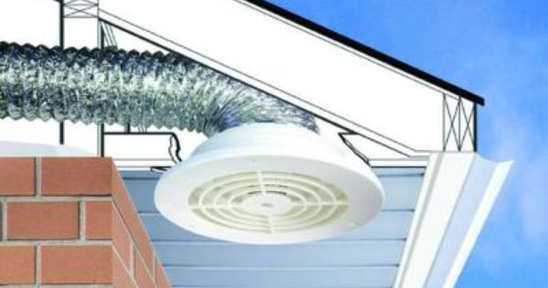 Everbilt 4 In To 6 In Soffit Exhaust Vent Sevhd The Home Depot In 2020 Bathroom Vent Bathroom Exhaust Bathroom Vent Fan