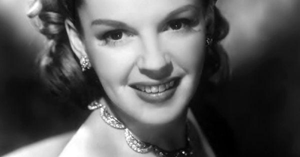 Judy Garland Beauty Pinterest