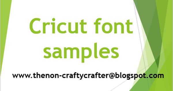 Cricut Carts Containing Fonts With Samples Cricut Fonts Cricut Monogram Font Cricut Fonts Cartridges
