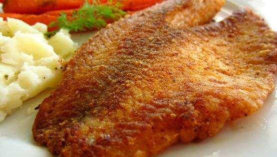 Pan fried seasoned tilapia recipe tilapia and tilapia for How to season fish for frying