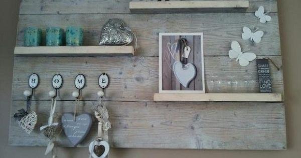 Memobord memobord pinterest babykamer hout en decoratie for Schilderij buiten intratuin