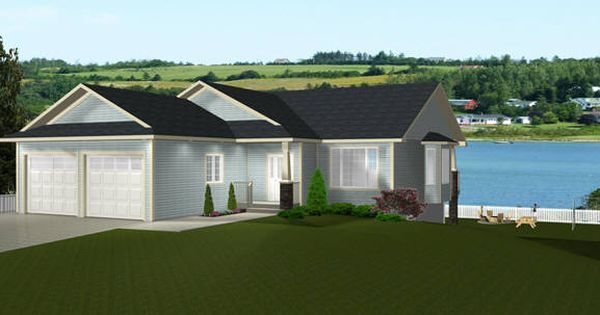 Bungalow plan 2014826 with walkout basement by e designs for Bungalow with walkout basement