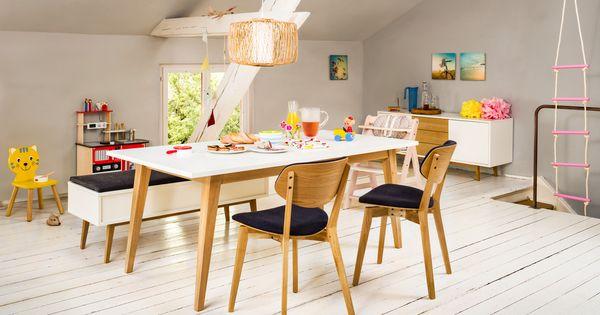 Micasa Esszimmer mit Esstisch und Bank aus dem Programm FILIPE | Micasa Essen | Pinterest
