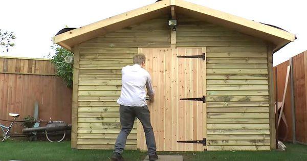 man builds hidden underground bunker in his backyard gardens