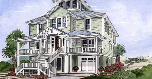 Plan 15033nc beach house plan with cupola 2nd floor for Cupola plans pdf