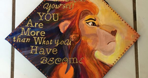 "My Mufasa Gradcap Of The Lion King""look Inside Yourself"