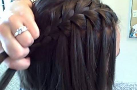 Waterfall Braid | Latest Hairstyles | Hairstyles, Braids and Hair Style Ideas