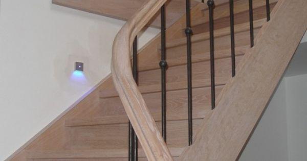 Landelijke trap ijzer deuren klinken decoratie pinterest foto 39 s - Decoratie montee d trap ...