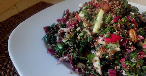 Kale, Quinoa and Salads on Pinterest