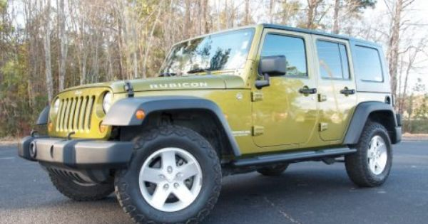 2007 Rescue Green Metallic Jeep Wrangler Unlimited Rubicon 4x4 74973534 Jeep Wrangler Unlimited Wrangler Unlimited Sport Jeep Wrangler Unlimited Rubicon