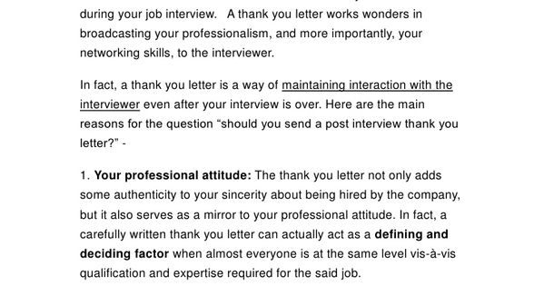 send the thank you letterafter job interviewthe letter sample - medical assistant thank you letter sample