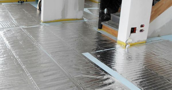 Warmup FOIL Heating System For Under Carpets Laminate