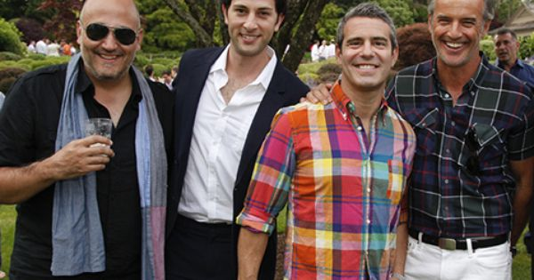 Albert Bianchini, Kyle Barisich, Andy Cohen, and T.R ...
