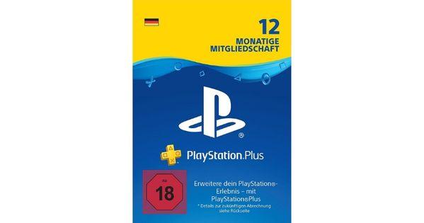 Angebot Playstation Plus Mitgliedschaft Playstation Monate Deutsch Ps4