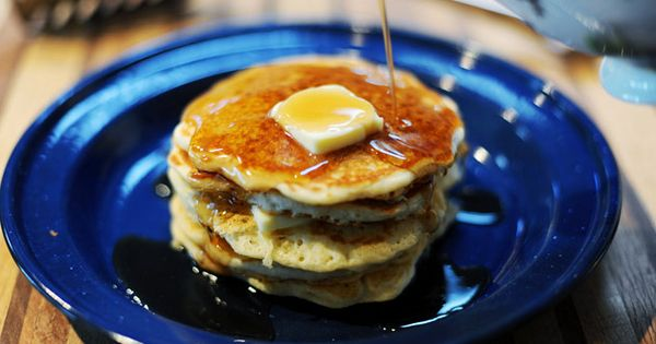 how to make homemade pancakes without milk or eggs