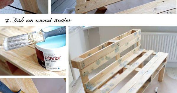 DIY pour un banc en palette dans votre entrée  Things for home ...