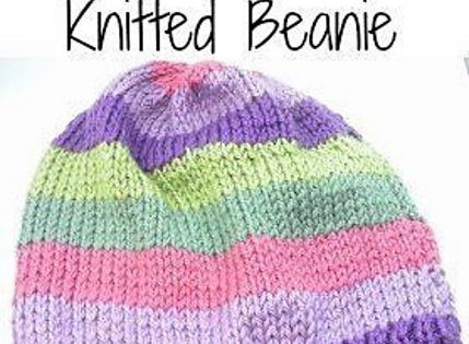 Ravelry: Basic Adults Knitted Beanie pattern by Shellie Wilson Adult Charit...