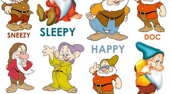 Great 7 Snow white and the Seven Dwarfs