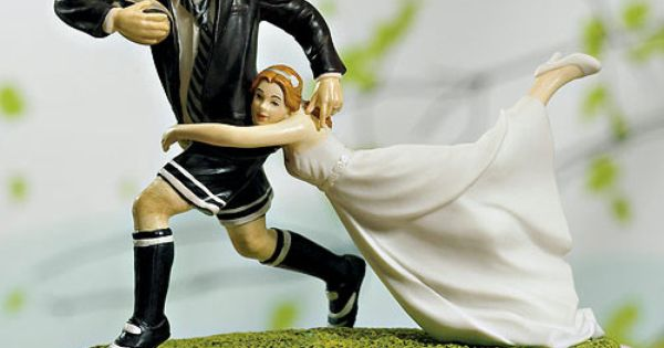 rugby tackle wedding cake topper tackle and groom cake topper discover more 19466