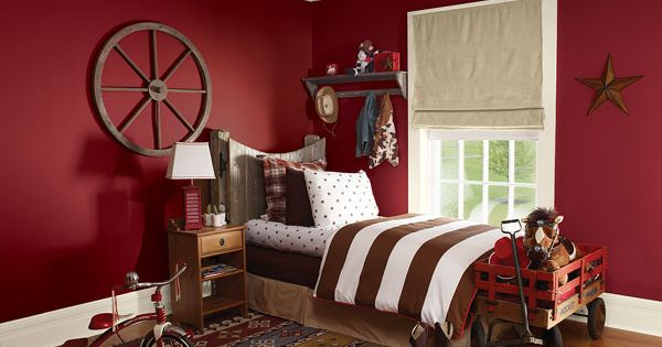 Benjamin Moore Pomegranate Af 295 Paint Red