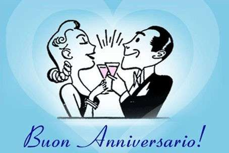 18 Anniversario Di Matrimonio.Biglietti Di Auguri Per L Anniversario Di Nozze Anniversario Di
