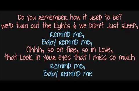 Brad Paisley Carrie Underwood Remind Me Lyrics I M So Sorry