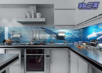 3d Backsplash Panel The Best Solution For Kitchen Backsplash