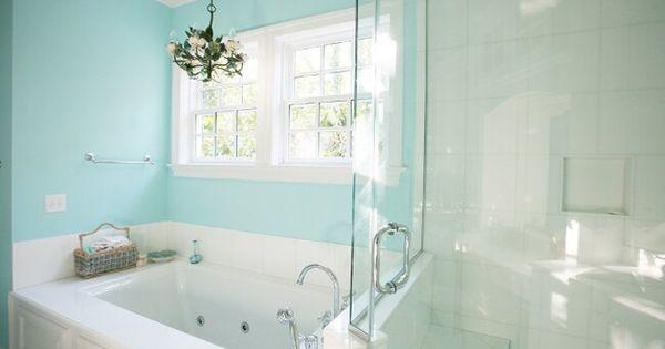 Sherwin Williams Spa Tiffany Blue Bathroom Tiffany