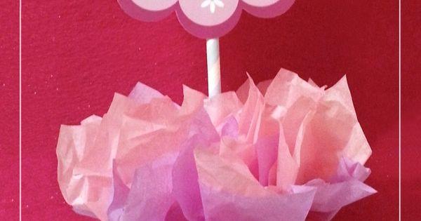 Doc McStuffins / Birthday centerpiece