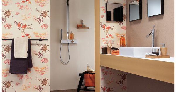 Aqua d co 2013 es un cat logo de papeles pintados con - Papeles decoracion paredes ...