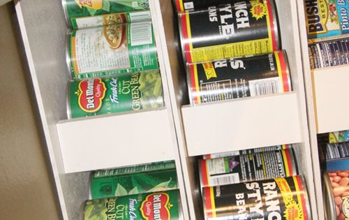 DIY Canned Food Organizers :: Hometalk