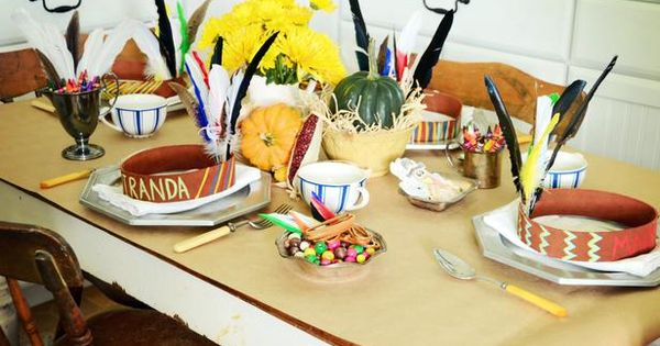 Marian Parsons Thanksgiving Kids Table Ideas 520x390 Thanksgiving Table Decor For Kids