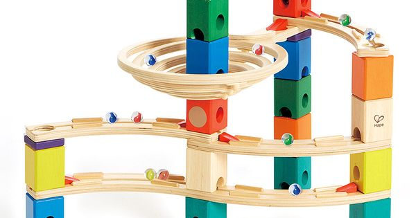 Marble Toys For Boys : Hape toys whirlpool marble run set marbles toy and