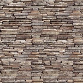 Textures Texture Seamless Stacked Slabs Walls Stone