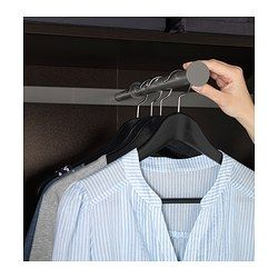 Clothes Rail For Shallow Closets